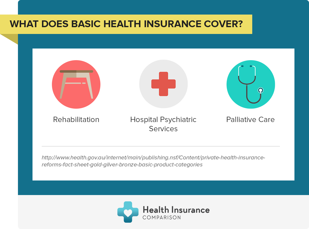 What does basic health insurance cover?