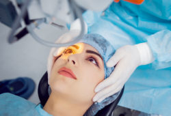 Health insurance for laser eye surgery